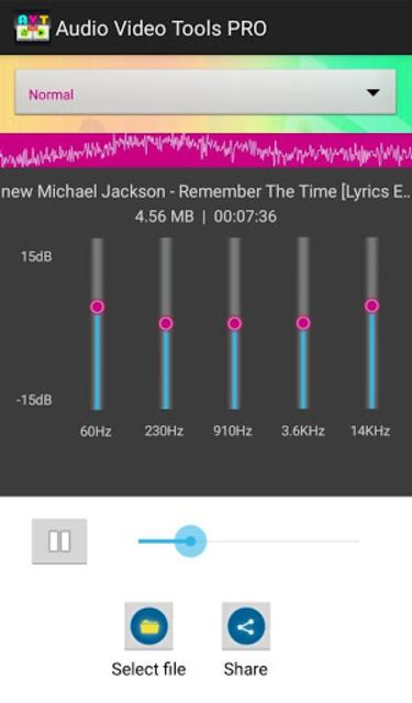 Audio Video Tools Pro screenshot 5