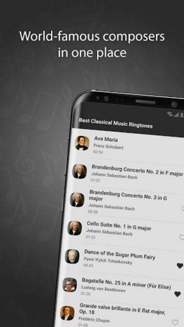 Classical Music Ringtones screenshot 2