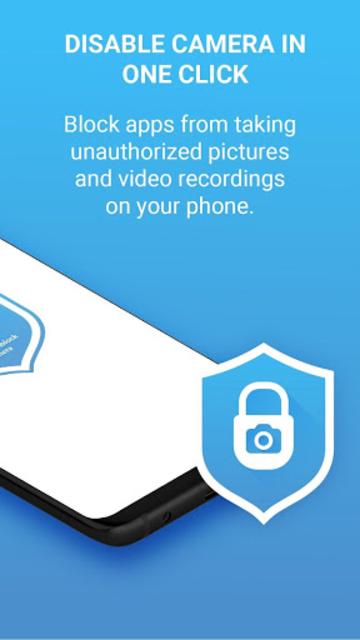 Camera Block Free - Anti spyware & Anti malware screenshot 2