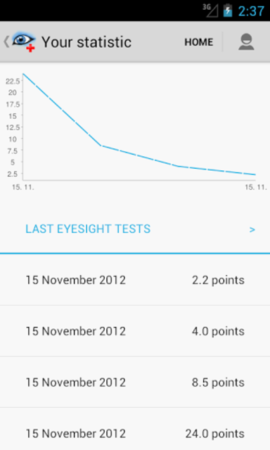 Eye Doctor Trainer - Exercises to Improve eyesight screenshot 8
