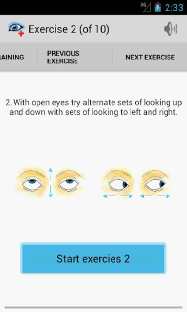 Eye Doctor Trainer - Exercises to Improve eyesight screenshot 2