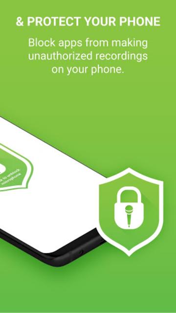 Microphone Block Pro - Anti spyware & Anti malware screenshot 2