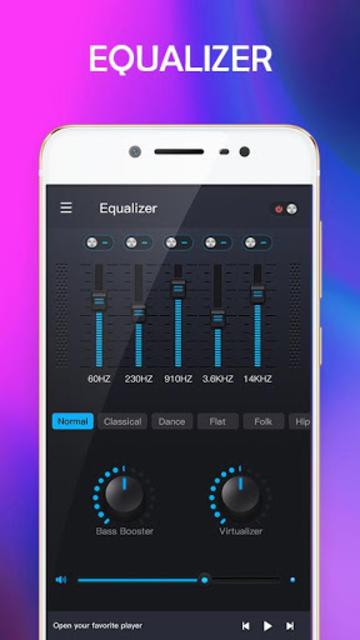 Music Equalizer - Bass Booster & Volume Up screenshot 2