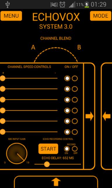 ECHOVOX System 3 Professional ITC Ghost Box screenshot 2