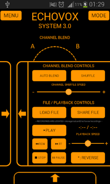 ECHOVOX System 3 Professional ITC Ghost Box screenshot 4
