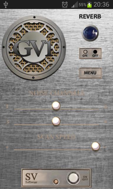 GV-1 GhostVox V2 Ghost Box EVP screenshot 1