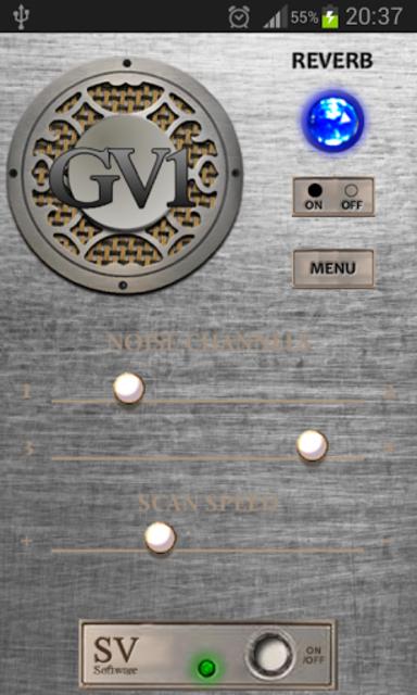 GV-1 GhostVox V2 Ghost Box EVP screenshot 2