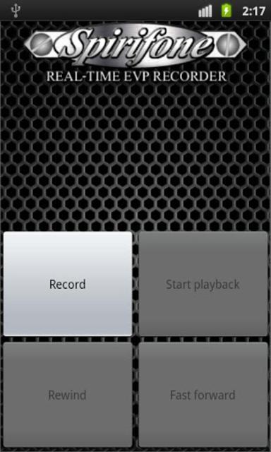 Spirifone REAL-TIME EVP RECORD screenshot 2