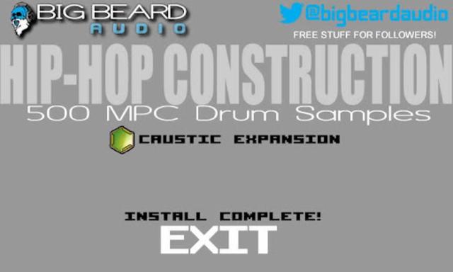CausticPack HipHopConstruction screenshot 2