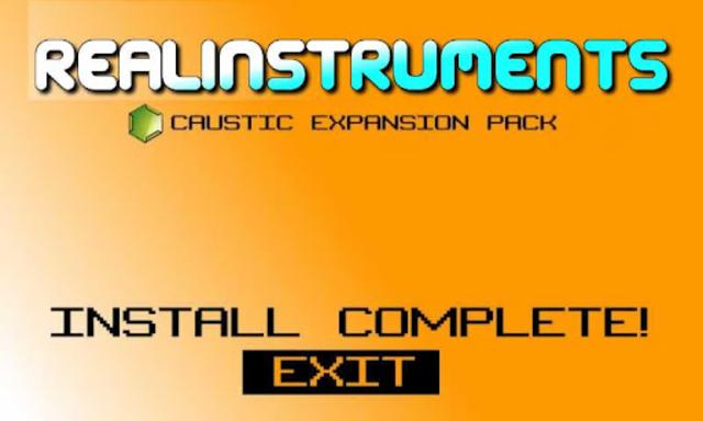 Caustic Pack Strings & Keys V1 screenshot 2