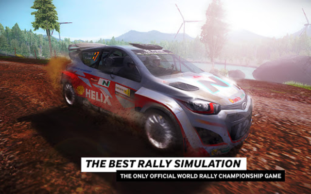 WRC The Official Game screenshot 1