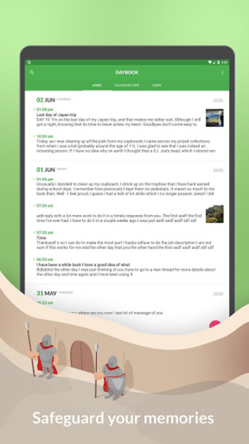 Daybook - Diary, Journal, Note screenshot 9