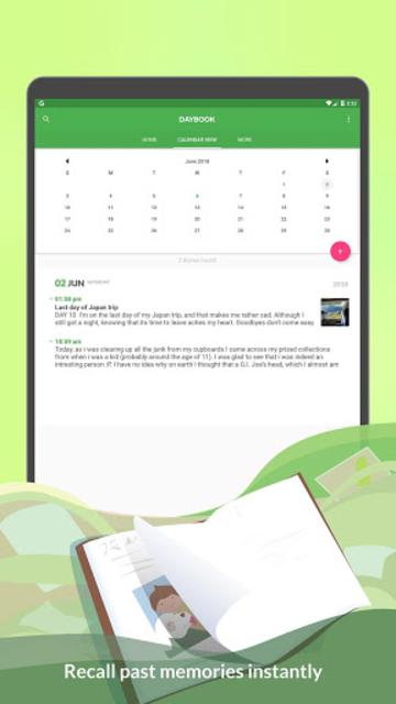 Daybook - Diary, Journal, Note screenshot 10
