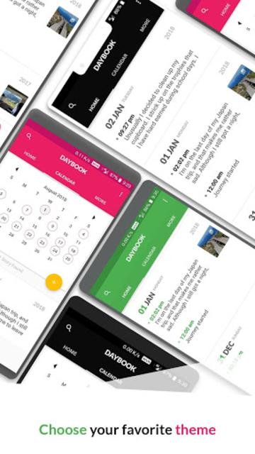 Daybook - Diary, Journal, Note screenshot 12
