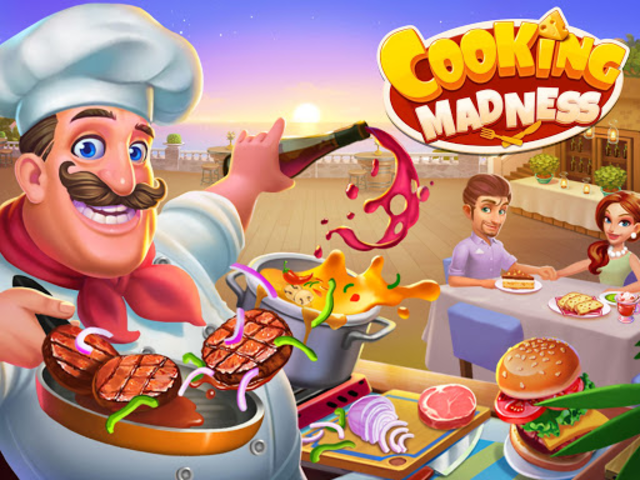 Cooking Madness - A Chef's Restaurant Games screenshot 1