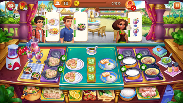 Cooking Madness - A Chef's Restaurant Games screenshot 15