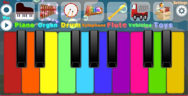 Kids Piano screenshot 1