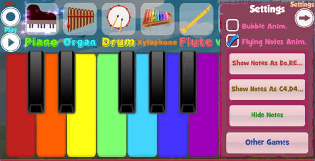 Kids Piano screenshot 2