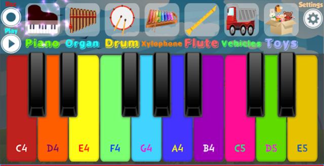 Kids Piano screenshot 5