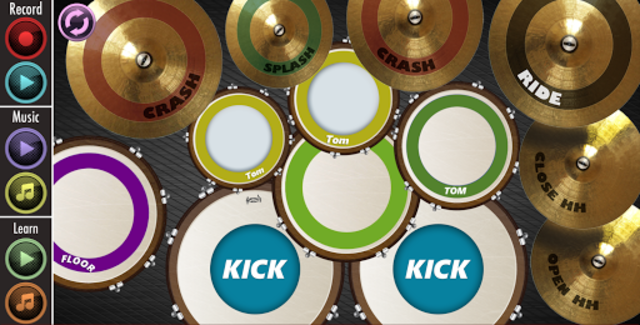 Real Drum : Play And Learn screenshot 1