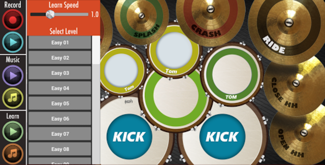 Real Drum : Play And Learn screenshot 2