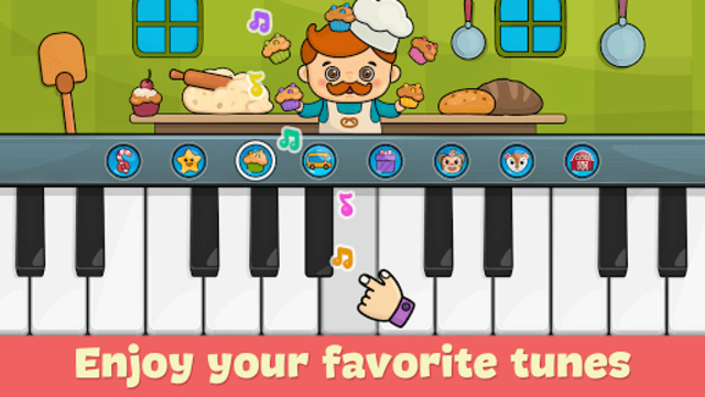 Kids piano screenshot 1