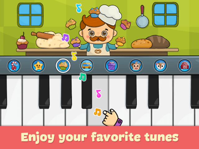 Kids piano screenshot 11