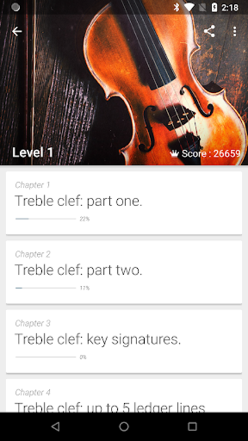 Complete Music Reading Trainer screenshot 1