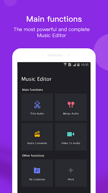 Music Editor Pro screenshot 1