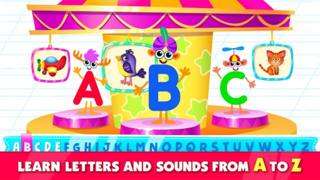 Bini Super ABC! Preschool Learning Games for Kids! screenshot 1