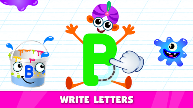 Bini Super ABC! Preschool Learning Games for Kids! screenshot 3