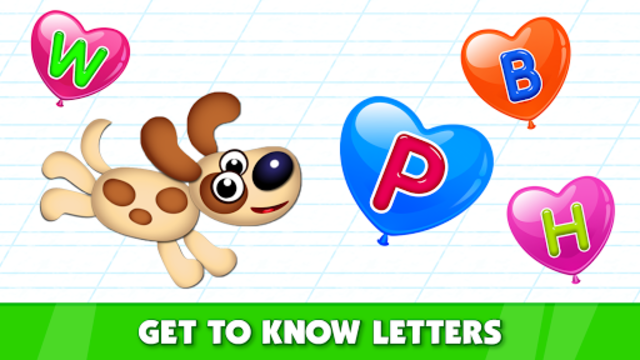 Bini Super ABC! Preschool Learning Games for Kids! screenshot 4