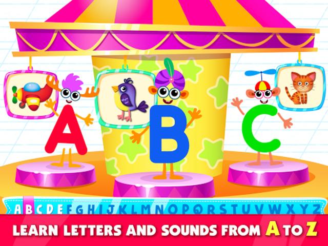 Bini Super ABC! Preschool Learning Games for Kids! screenshot 9