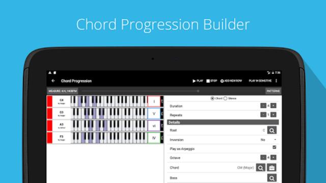Piano Chord, Scale, Progression Companion screenshot 8
