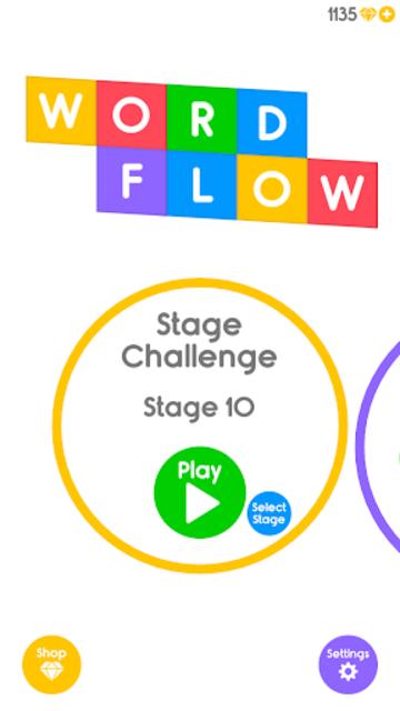 Wordflow - Radical Crossword Gameplay screenshot 1