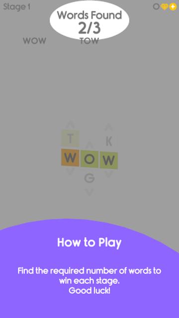 Wordflow - Radical Crossword Gameplay screenshot 4