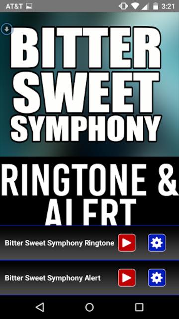 Bitter Sweet Symphony Ringtone screenshot 1
