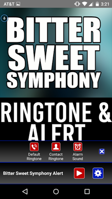 Bitter Sweet Symphony Ringtone screenshot 2
