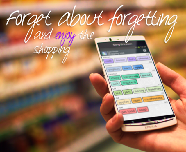 Super Simple Shopping List screenshot 8