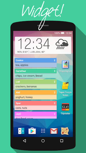 Super Simple Shopping List screenshot 6