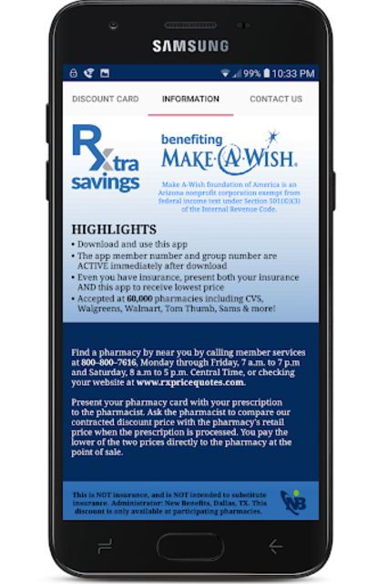 Rx Extra Savings Prescription Discount Card screenshot 3