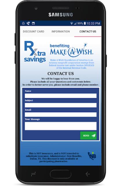 Rx Extra Savings Prescription Discount Card screenshot 4