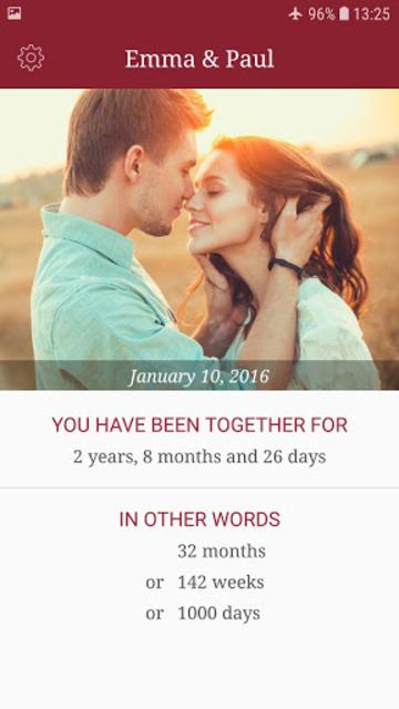 My Love - Relationship Counter screenshot 1