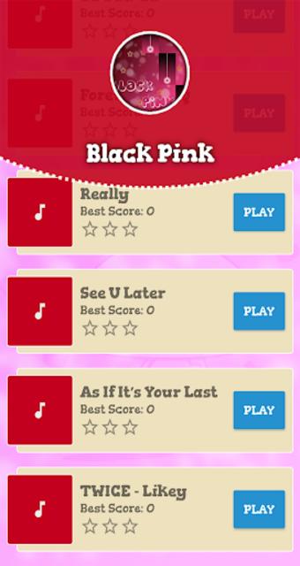 Black Pink Piano Game screenshot 2