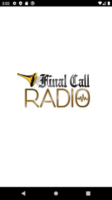 Final Call Radio screenshot 1