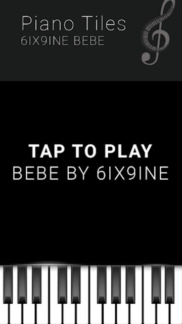6IX9INE BEBE - Piano Tap Free screenshot 4