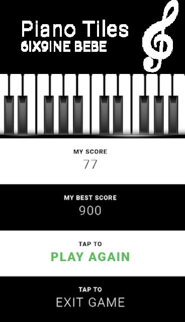 6IX9INE BEBE - Piano Tap Free screenshot 5