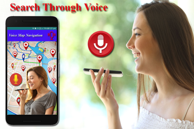 Voice GPS Driving Directions, Gps Tracker, Maps screenshot 1