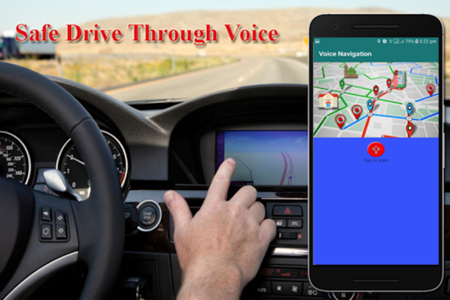 Voice GPS Driving Directions, Gps Tracker, Maps screenshot 5