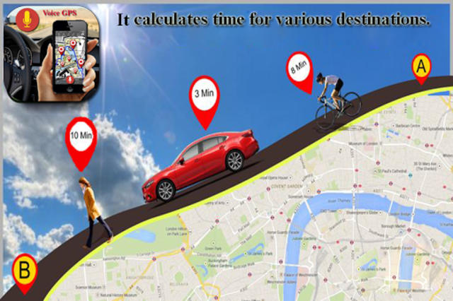 Voice GPS Driving Directions, Gps Tracker, Maps screenshot 6